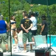 Serie Ciega a Citas rodando en una piscina de AguaLimpia