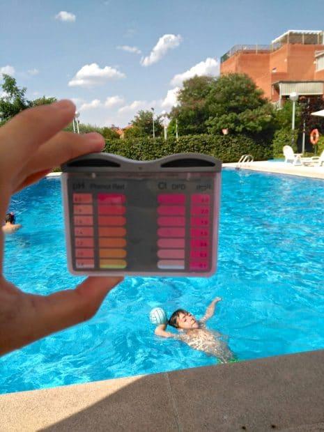 Test Agua Piscina DPD