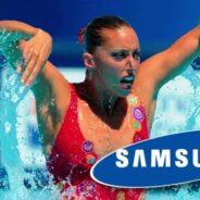 Gemma Mengual y Samsung, en Agua Limpia